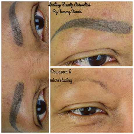 POWDER MICROBLADING COMBO EYEBROWS-LASTING BEAUTY COSMETICS