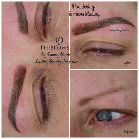 Microblading eyebrows; Permanent makeup Madison WI