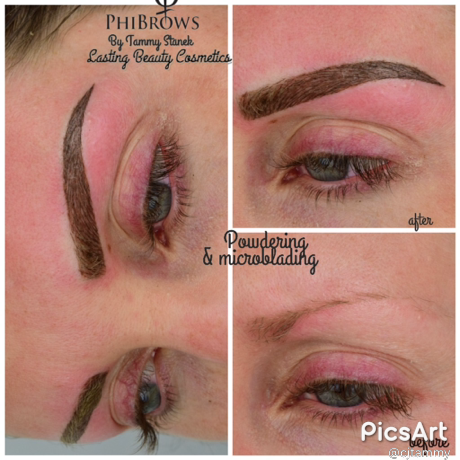 Permanent makeup, Microblading eyebrows by Lasting Beauty Cosmetics