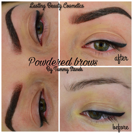 POWDER EYEBROWS-LASTING BEAUTY COSMETICS-1