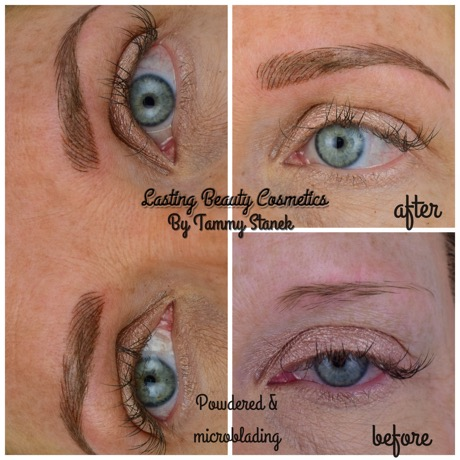 MICROBLADING & POWDERING COMBINATION BY LASTING BEAUTY COSMETICS