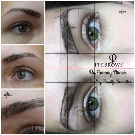 Eyebrows by permanent makeup for How is microblading different to tattooing